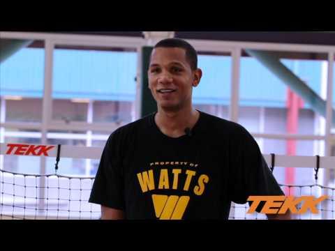 BASKETBALL TEKK TRAINER FORWARD TRAINING VIDEO