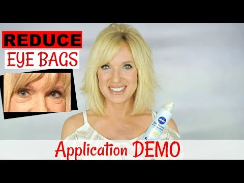 Application Demo How To Remove Under Eye Bags