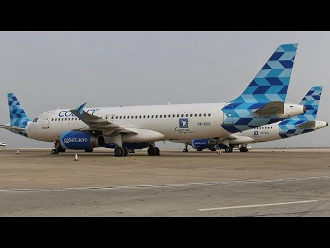 Farewell Cobalt Air | Last Landing & ATC Communications | Grounded Fleet at Larnaca Airport