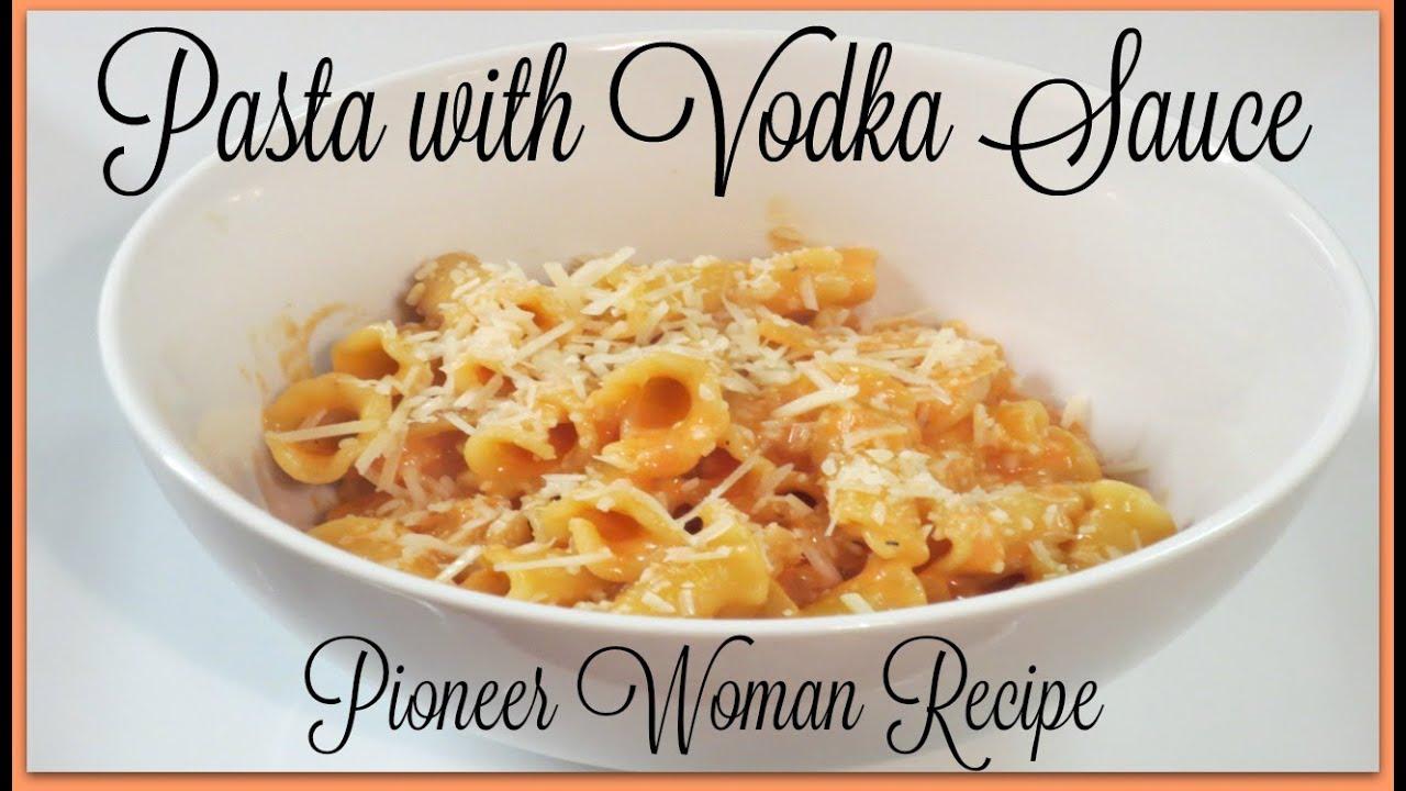 Pasta with vodka sauce pioneer woman recipe youtube pasta with vodka sauce pioneer woman recipe forumfinder Gallery