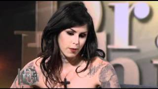 Kat Von D on Dr.Phil - Kat dishes out her own advice to young girl