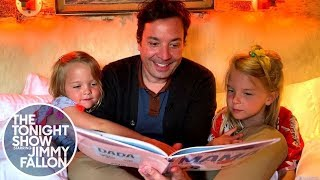 "Jimmy Reads ""Everything Is Mama"" with Daughters Winnie and Franny"