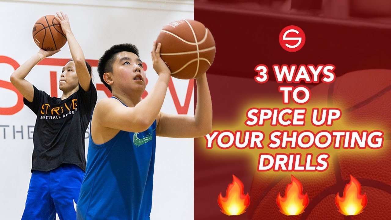 3 Ways to Spice Up Your Shooting Drills