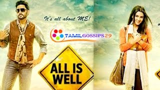 "Actress Asin Disappointed about ""All is Well"""