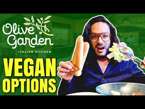 VEGAN AT OLIVE GARDEN / HOW TO ORDER VEGAN AT OLIVE GARDEN