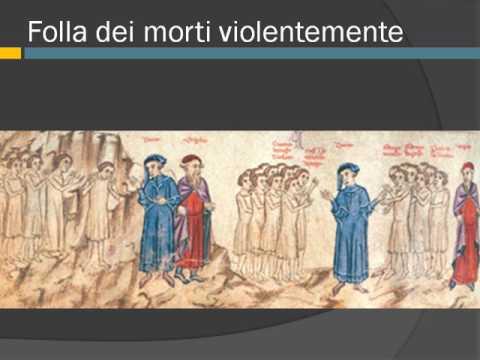 La divina commedia, Purgatorio, canto sesto, vv. 1-42