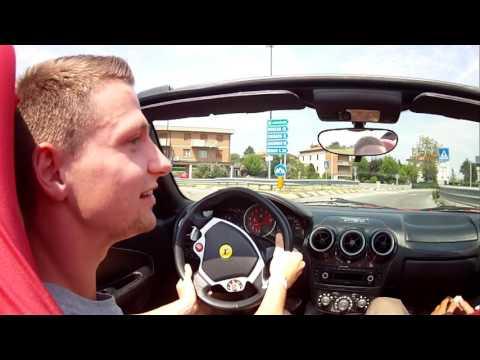 Ferrari F430 Spider fast test drive POV