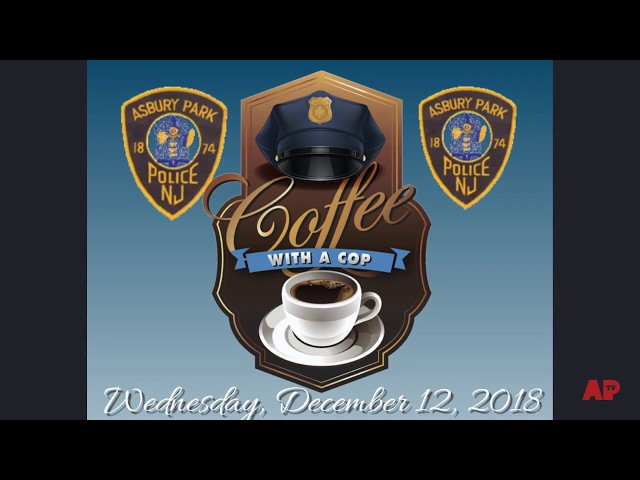Flyer AP Coffee with a Cop 12-12-18