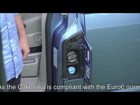 Volkswagen California T6 - Fuel tank