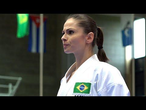 美しく強く、ブラジル女子の空手!Beautiful Karate, Team Brazil.