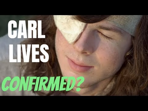 THE WALING DEAD MAJOR NEWS - ROBERT KIRKMAN SAYS CARL MIGHT LIVE - CARL SURVIVES CONFIRMED?!?!