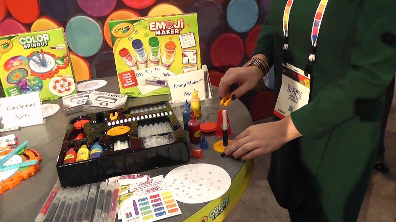 Crayola Emoji Marker Maker - YouTube