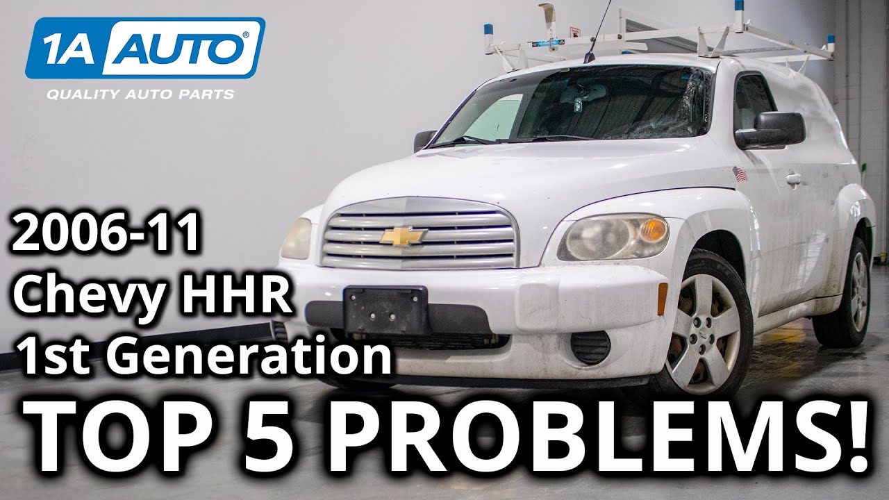 Download Top 5 Problems Chevy HHR SUV 1st Generation 2006-11