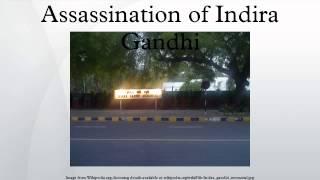 Assassination of Indira Gandhi