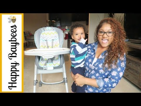 INGENUITY RIDGEDALE 3-IN-1 HIGH CHAIR REVIEW    BABY, TODDLER, & KIDS