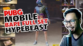 BAPE FULL SET SKIN IMPIAN - PUBG MOBILE INDONESIA