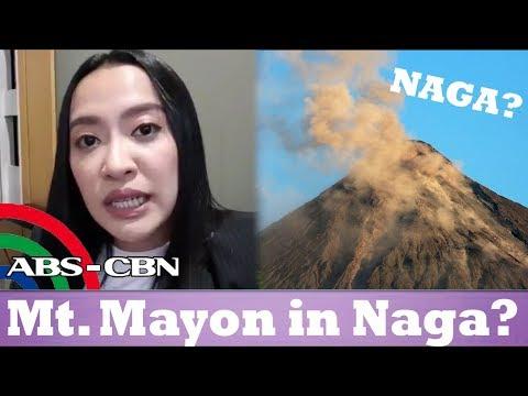 Mocha Uson, Sinabing nasa NAGA ang Bulkang Mayon!
