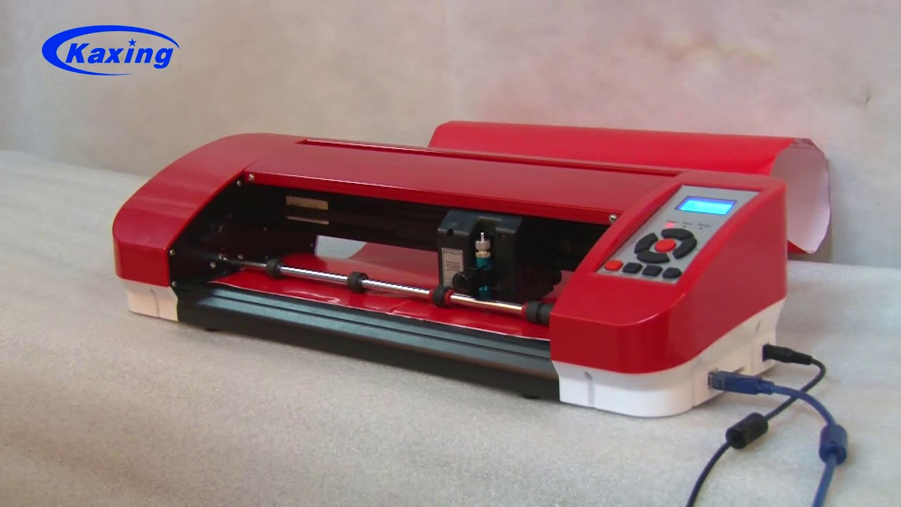 YS-380 work with Anycut software - JINKA desktop cutting plotter