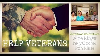 Operation Renovation - A collaboration to help Veterans - The People Chronicles
