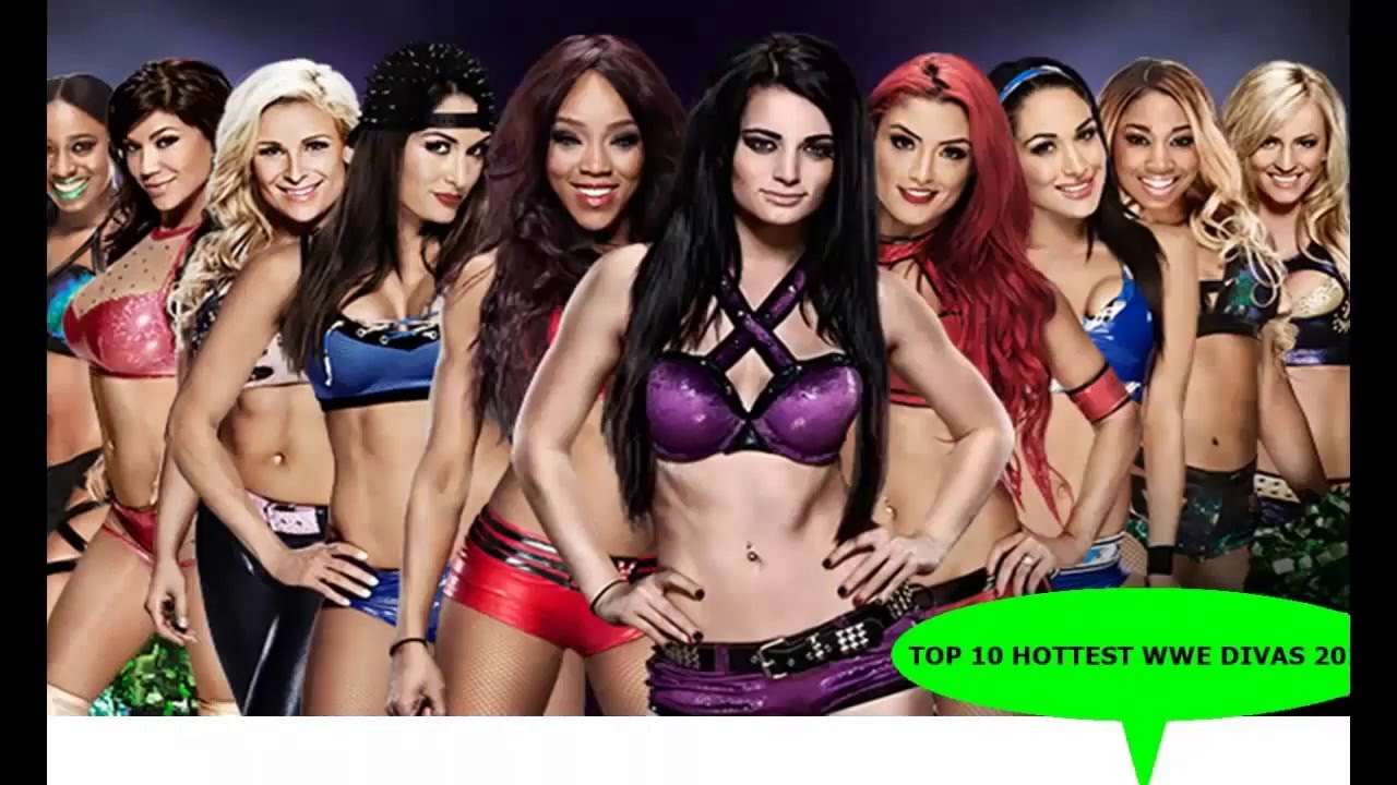 top 10 hottest and beautiful wwe divas in 2016 -hot girls - youtube