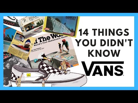 Vans Shoes: 14 Things You Didn't Know About Vans (2019)