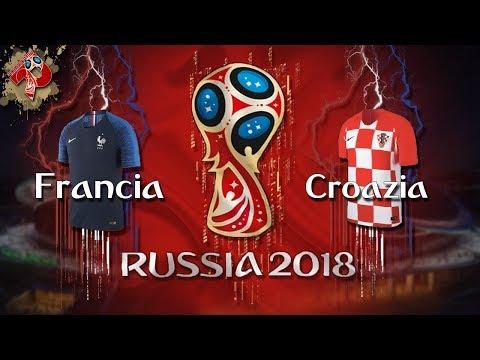 Francia - Croazia | Diretta LIVE (Russia 2018)