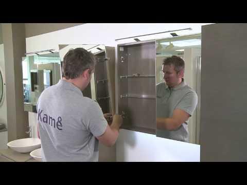 comment changer les portes miroir le coin salle de bain youtube. Black Bedroom Furniture Sets. Home Design Ideas