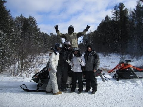 Northern Wisconsin Snowmobiling Trails 2013