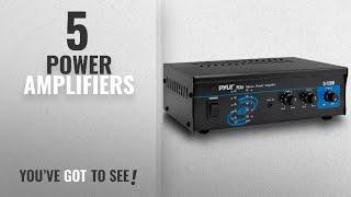 Top 10 Power Amplifiers [2018]: Pyle 2x120 Watt Home Audio Speaker Power Amplifier - Portable Dual