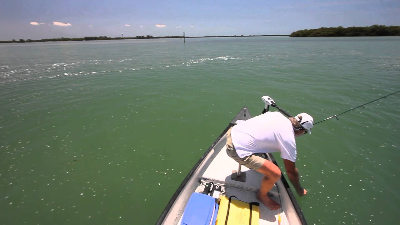 Fishing at ft desoto park fl youtube for Out of state fishing license florida