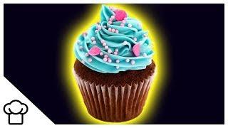 Diese Cupcakes leuchten im Dunkeln 😱💡