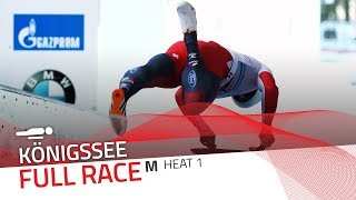 KÖnigssee | BMW IBSF World Cup 2017/2018 - Men's Skeleton Heat 1 | IBSF Official