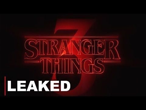 STRANGER THINGS: SEASON 3 TRAILER LEAK