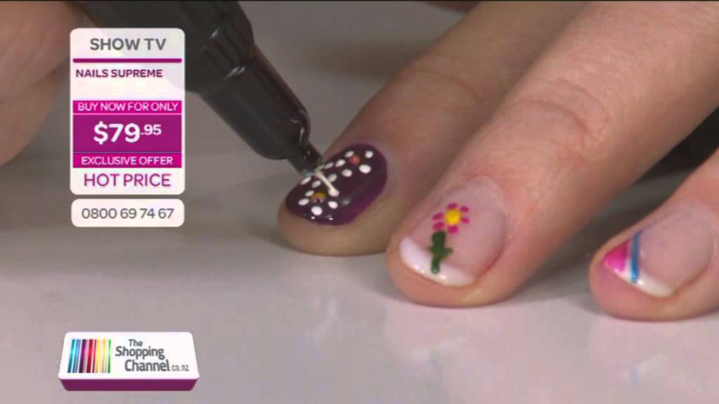 Nail Supreme Nail Art Pens On The Shopping Channel Youtube