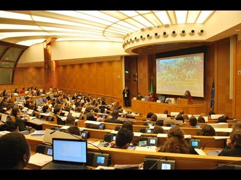 One People in UN HQ Nov 24  2014 (part 1 Laws of Noah)