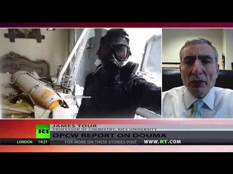 'Compounds found by OPCW in Douma commonly used in industry' – chemistry professor