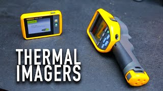 NEW Pocket Thermal Imager from Fluke PTi120 and TIS20+