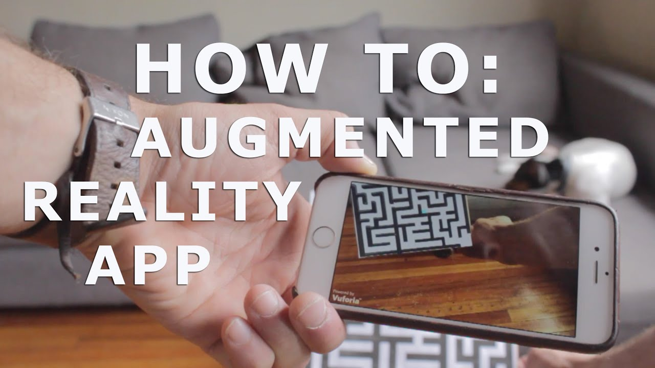 how to augmented reality app tutorial for beginners with vuforia and unity 3d youtube. Black Bedroom Furniture Sets. Home Design Ideas