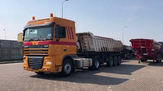 for sale: DAF XF 105.410 with Tipper trailer   2008   Manual   Hyva