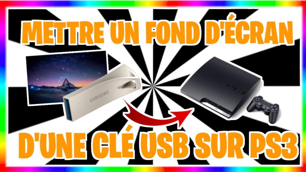 TUTO Mettre un FOND D'ECRAN sur PS3/PS4 - YouTube