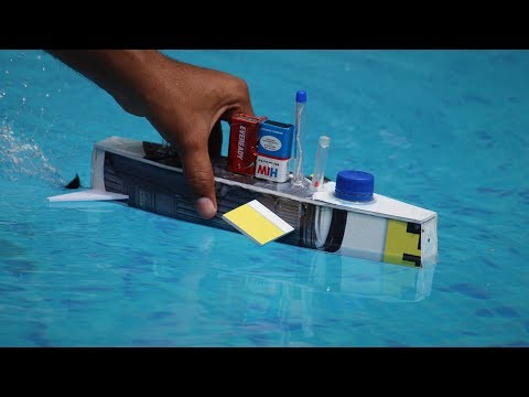 How to make a Boat - underwater boat