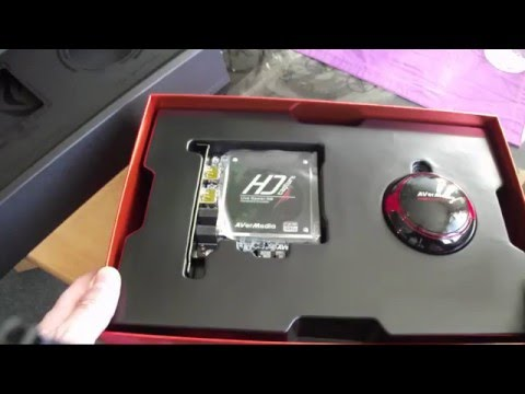 Aver Live Gamer HD unboxing, instalace a ukázky videí CZ/SK