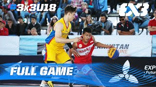 Indonesia shock Romania - Game of the Day (Day 1) - 2016 FIBA 3x3 U18 World Championships