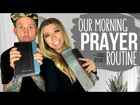 OUR MORNING PRAYER ROUTINE || PLUS Our Favorite Prayer Books + Resources For Christians!