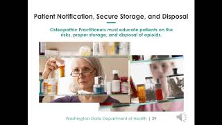 2018 Opioid Prescribing - Osteopathic Physician and Osteopathic Physician's Assistant