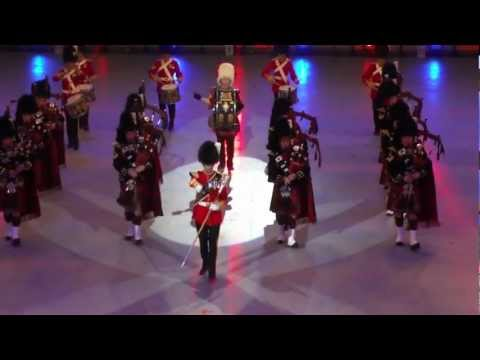 Pipes and Drums of The Royal Scots Dragoon Guards