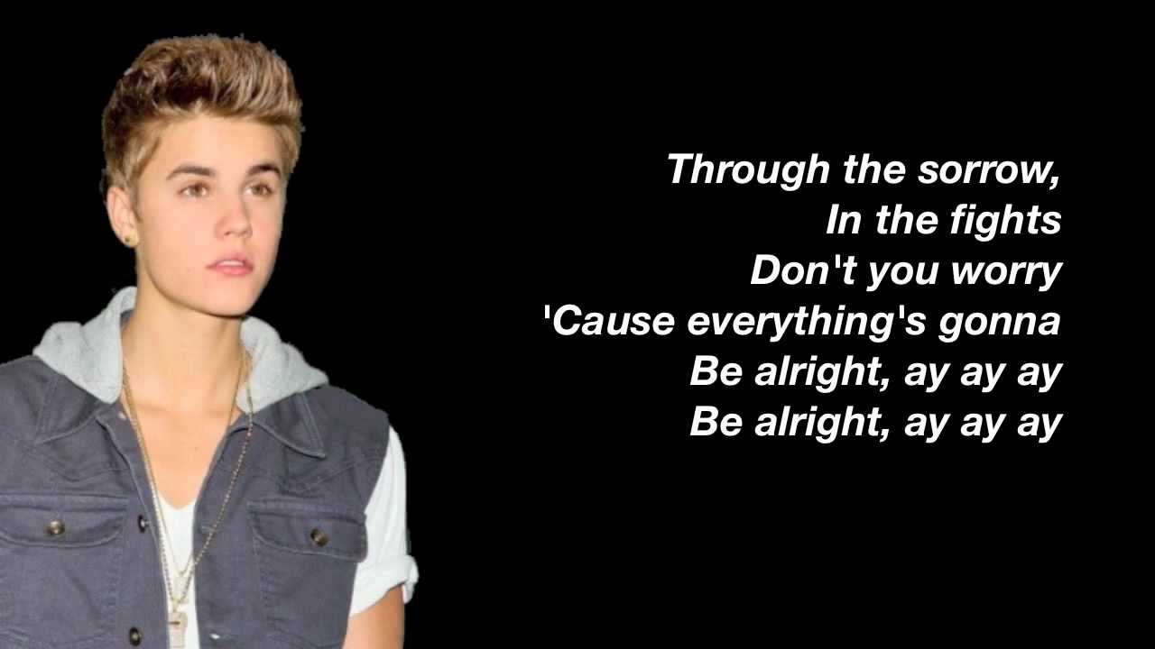 Justin Bieber - Be Alright Lyrics | MetroLyrics