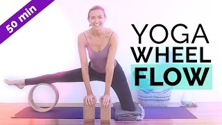 How To Use A Yoga Wheel | Strength & Flexibility Sequence | Yin Yoga (50-min)