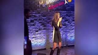 Bensu Soralın rap performansı..Ceza dan Ben Aglamazken Bensu Soral Versiyon )