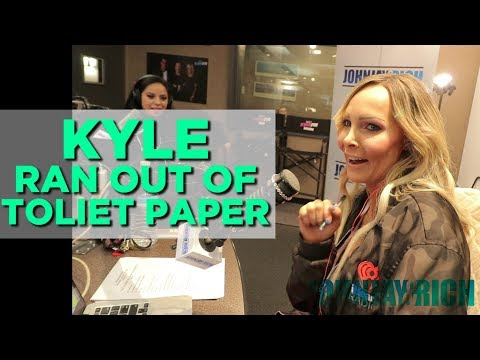 In-Studio Videos - Kyle Ran Out of Toilet Paper...IN PUBLIC!